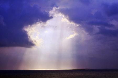 Am simţit cum cerurile s-au deschis şi s-a revărsat o lumină vindecătoare sublimă